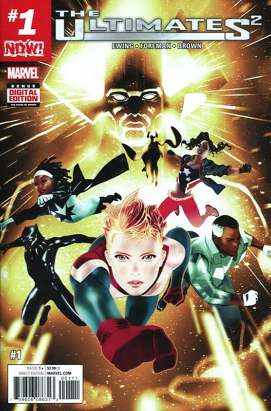 Cover of Ultimates (Vol 5) #1. One of 250,000 Vintage American Comics on sale from Krypton!