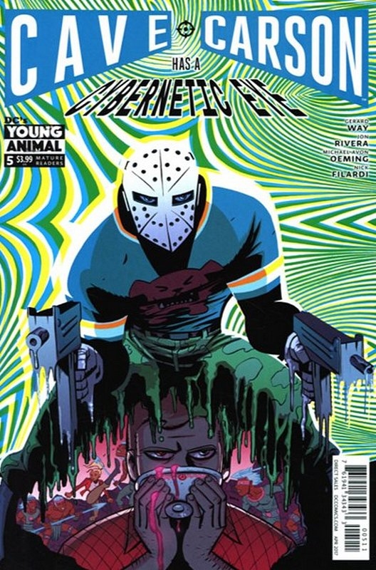 Cover of Cave Carson: Has a Cybernetic Eye #5. One of 250,000 Vintage American Comics on sale from Krypton!