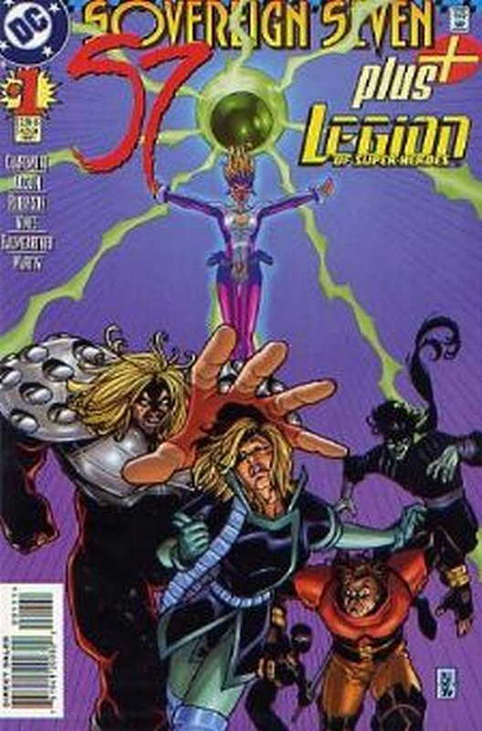 Cover of Sovereign Seven Plus (1997 One Shot) #1. One of 250,000 Vintage American Comics on sale from Krypton!