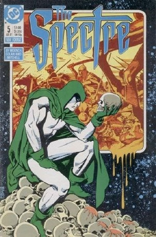Cover of Spectre (Vol 2) #5. One of 250,000 Vintage American Comics on sale from Krypton!