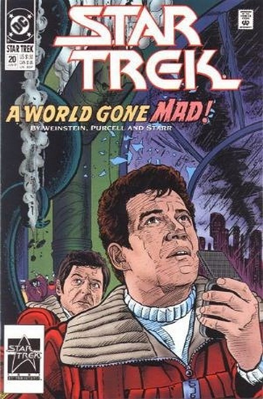 Cover of Star Trek (Vol 2) (DC) #20. One of 250,000 Vintage American Comics on sale from Krypton!