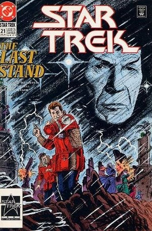 Cover of Star Trek (Vol 2) (DC) #21. One of 250,000 Vintage American Comics on sale from Krypton!
