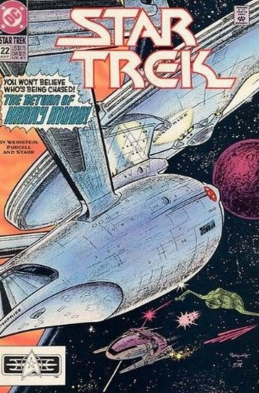 Cover of Star Trek (Vol 2) (DC) #22. One of 250,000 Vintage American Comics on sale from Krypton!