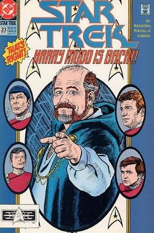 Cover of Star Trek (Vol 2) (DC) #23. One of 250,000 Vintage American Comics on sale from Krypton!