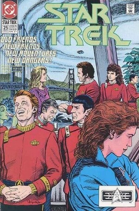 Cover of Star Trek (Vol 2) (DC) #25. One of 250,000 Vintage American Comics on sale from Krypton!