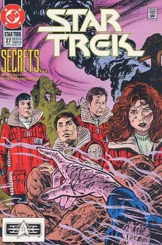 Cover of Star Trek (Vol 2) (DC) #27. One of 250,000 Vintage American Comics on sale from Krypton!