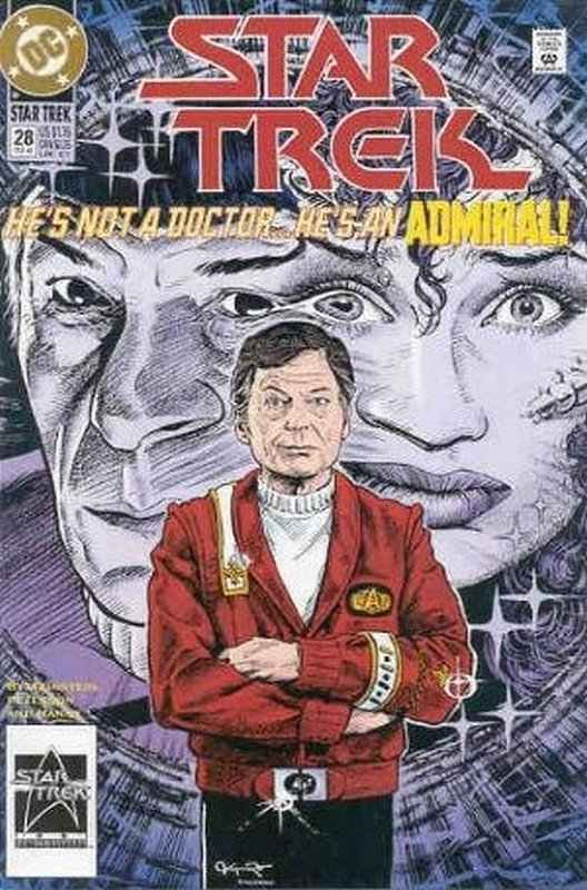 Cover of Star Trek (Vol 2) (DC) #28. One of 250,000 Vintage American Comics on sale from Krypton!
