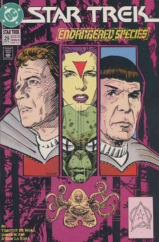 Cover of Star Trek (Vol 2) (DC) #29. One of 250,000 Vintage American Comics on sale from Krypton!
