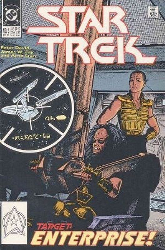 Cover of Star Trek (Vol 2) (DC) #3. One of 250,000 Vintage American Comics on sale from Krypton!