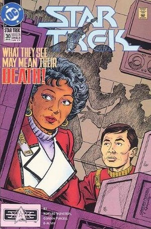 Cover of Star Trek (Vol 2) (DC) #30. One of 250,000 Vintage American Comics on sale from Krypton!
