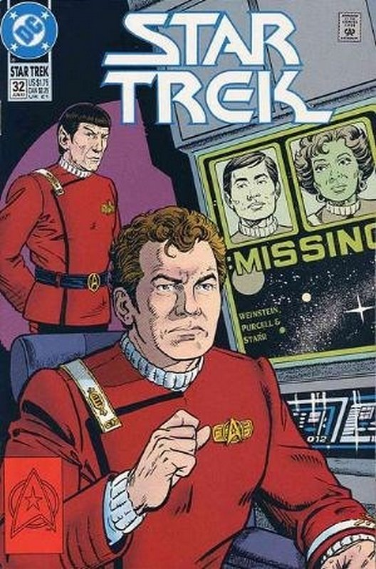 Cover of Star Trek (Vol 2) (DC) #32. One of 250,000 Vintage American Comics on sale from Krypton!