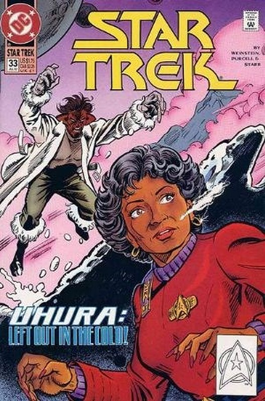 Cover of Star Trek (Vol 2) (DC) #33. One of 250,000 Vintage American Comics on sale from Krypton!