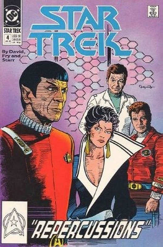 Cover of Star Trek (Vol 2) (DC) #4. One of 250,000 Vintage American Comics on sale from Krypton!