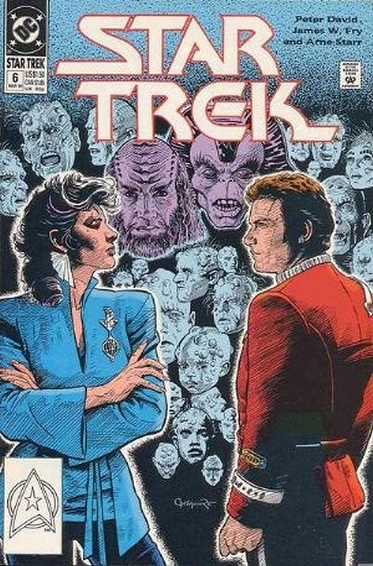 Cover of Star Trek (Vol 2) (DC) #6. One of 250,000 Vintage American Comics on sale from Krypton!