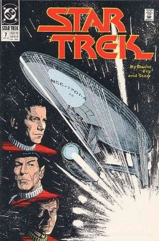 Cover of Star Trek (Vol 2) (DC) #7. One of 250,000 Vintage American Comics on sale from Krypton!