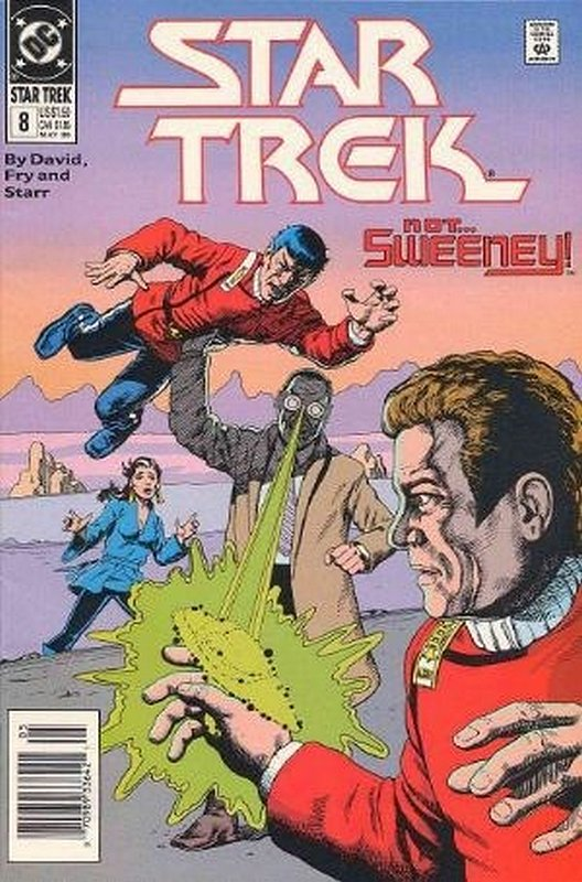 Cover of Star Trek (Vol 2) (DC) #8. One of 250,000 Vintage American Comics on sale from Krypton!