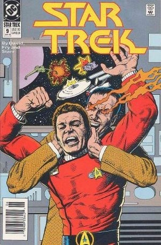 Cover of Star Trek (Vol 2) (DC) #9. One of 250,000 Vintage American Comics on sale from Krypton!