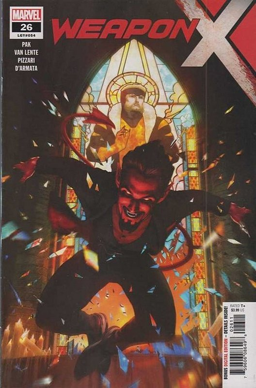 Cover of Weapon X (Vol 2) #26. One of 250,000 Vintage American Comics on sale from Krypton!