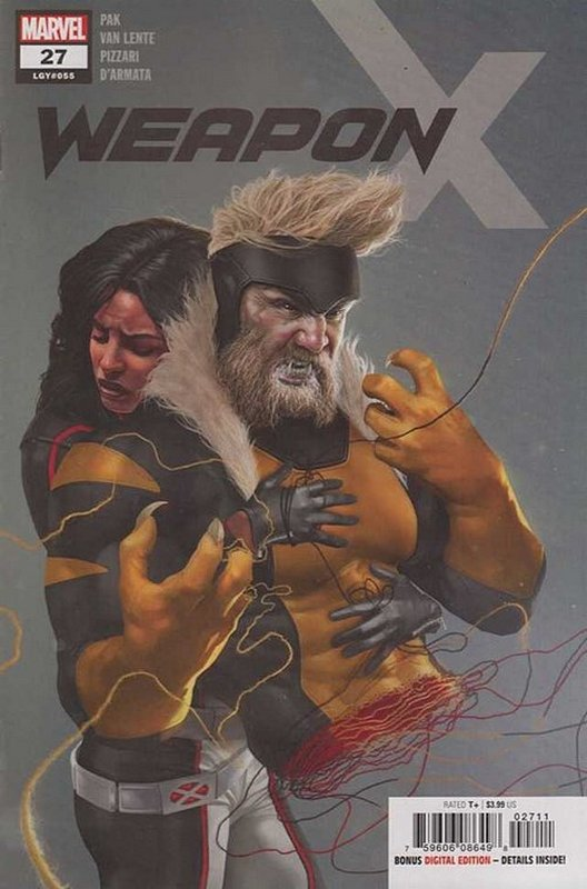 Cover of Weapon X (Vol 2) #27. One of 250,000 Vintage American Comics on sale from Krypton!