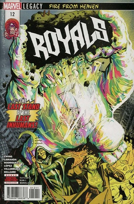 Cover of Royals (Vol 1) #12. One of 250,000 Vintage American Comics on sale from Krypton!
