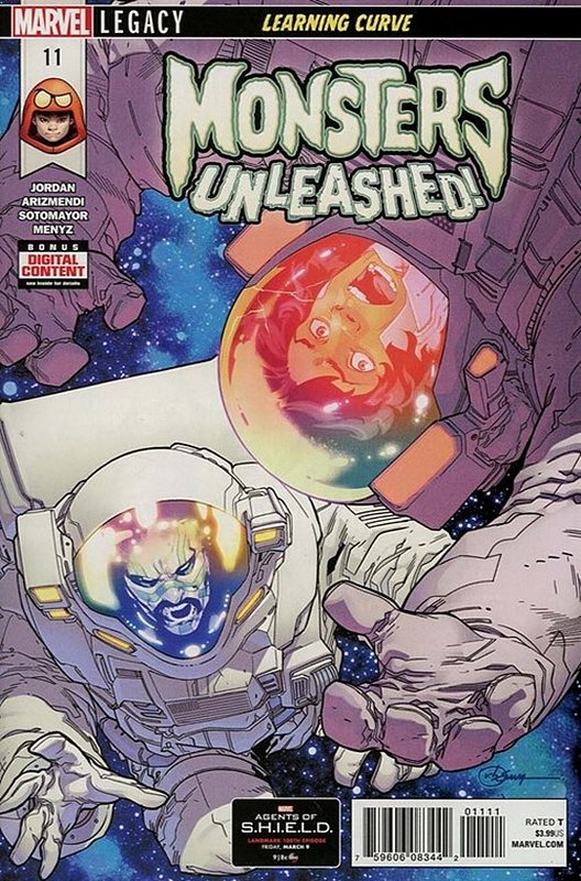 Cover of Monsters Unleashed (Vol 1) #11. One of 250,000 Vintage American Comics on sale from Krypton!