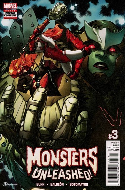 Cover of Monsters Unleashed (Vol 1) #3. One of 250,000 Vintage American Comics on sale from Krypton!