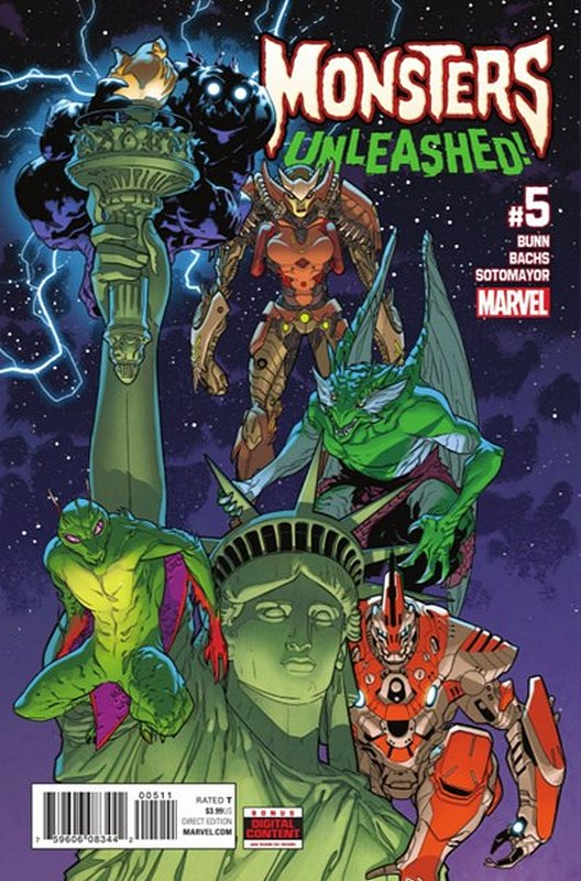 Cover of Monsters Unleashed (Vol 1) #5. One of 250,000 Vintage American Comics on sale from Krypton!