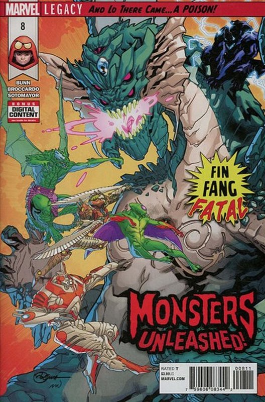 Cover of Monsters Unleashed (Vol 1) #8. One of 250,000 Vintage American Comics on sale from Krypton!