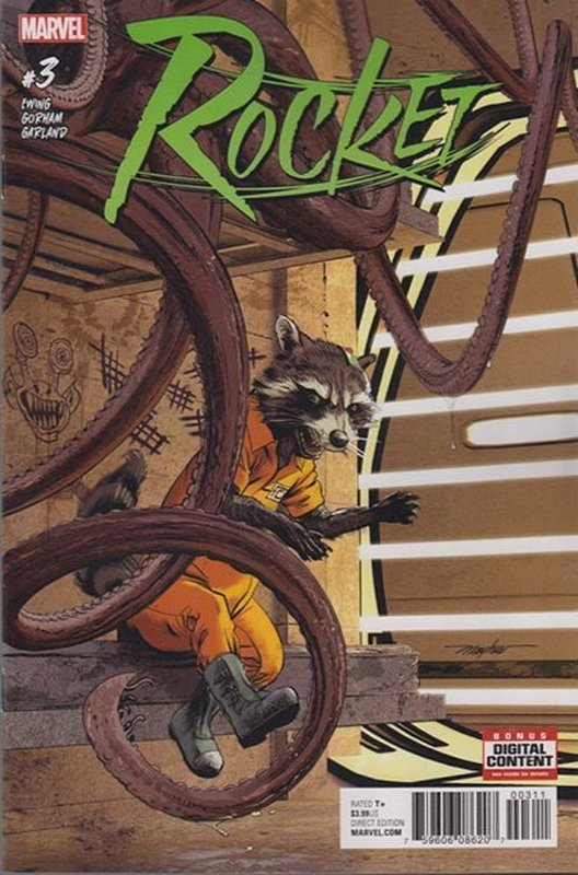 Cover of Rocket (Vol 1) #3. One of 250,000 Vintage American Comics on sale from Krypton!