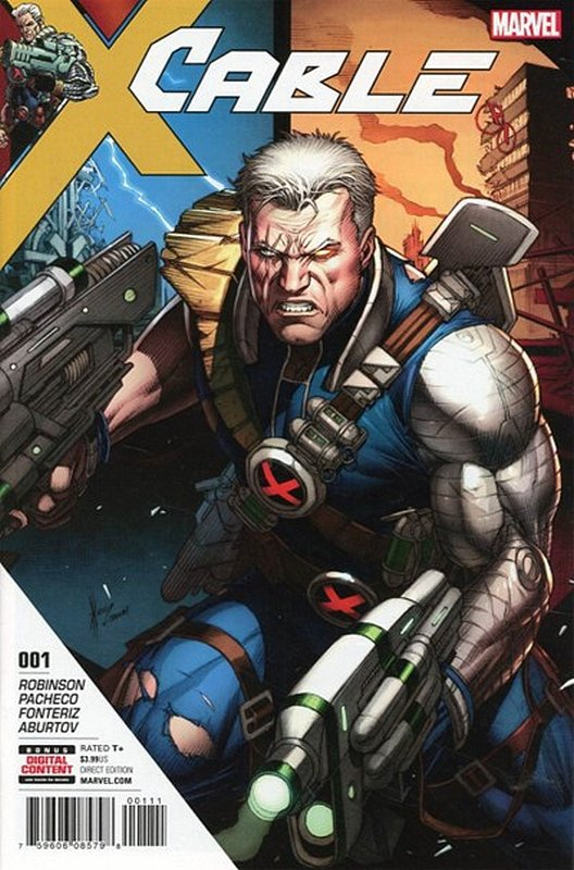 Cover of Cable (Vol 3) #1. One of 250,000 Vintage American Comics on sale from Krypton!