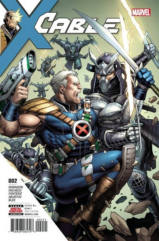 Cover of Cable (Vol 3) #2. One of 250,000 Vintage American Comics on sale from Krypton!