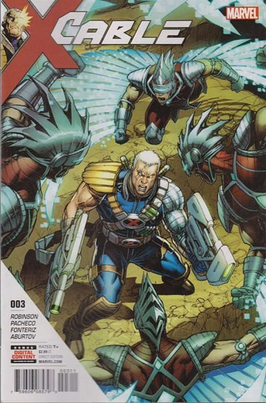 Cover of Cable (Vol 3) #3. One of 250,000 Vintage American Comics on sale from Krypton!