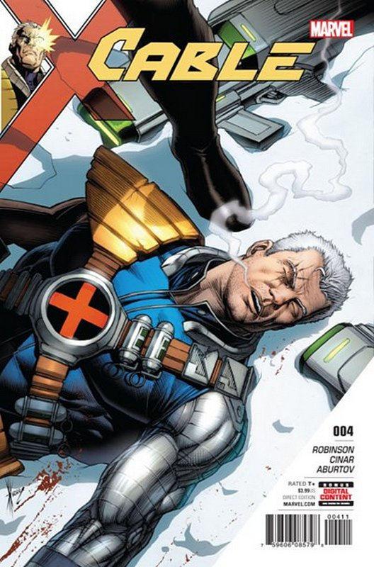 Cover of Cable (Vol 3) #4. One of 250,000 Vintage American Comics on sale from Krypton!