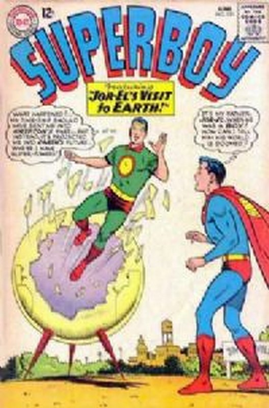 Cover of Superboy (Vol 1) #121. One of 250,000 Vintage American Comics on sale from Krypton!