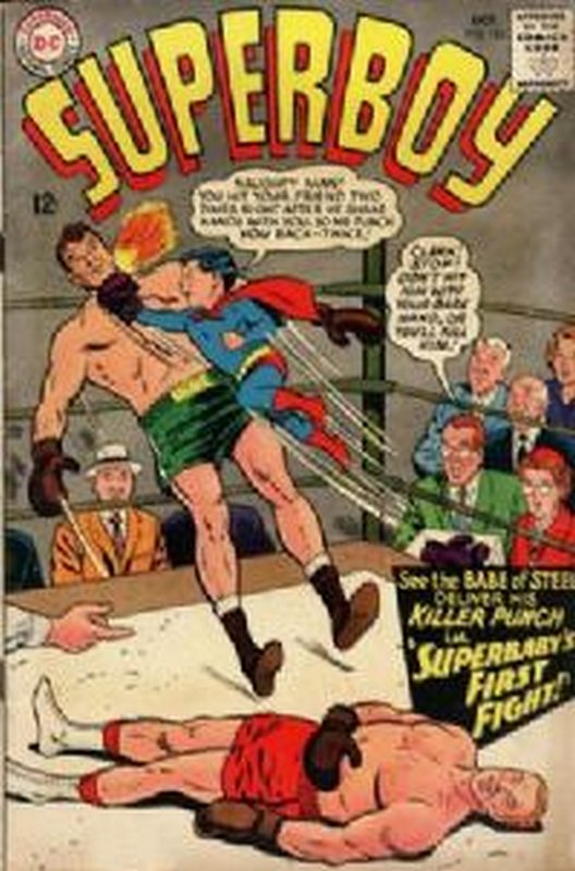 Cover of Superboy (Vol 1) #124. One of 250,000 Vintage American Comics on sale from Krypton!