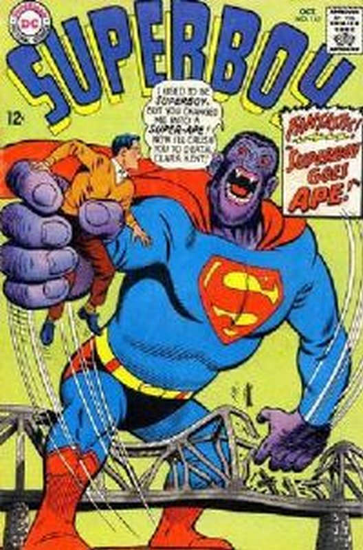 Cover of Superboy (Vol 1) #142. One of 250,000 Vintage American Comics on sale from Krypton!