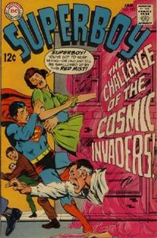 Cover of Superboy (Vol 1) #153. One of 250,000 Vintage American Comics on sale from Krypton!