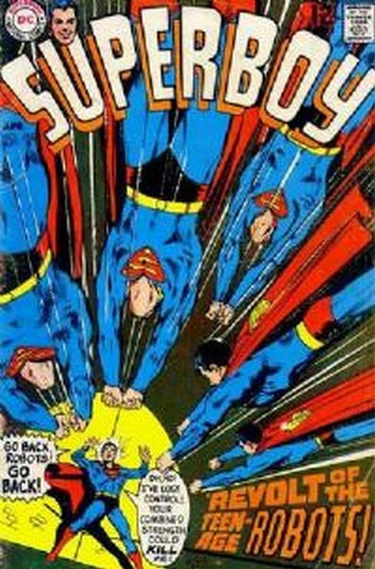 Cover of Superboy (Vol 1) #155. One of 250,000 Vintage American Comics on sale from Krypton!