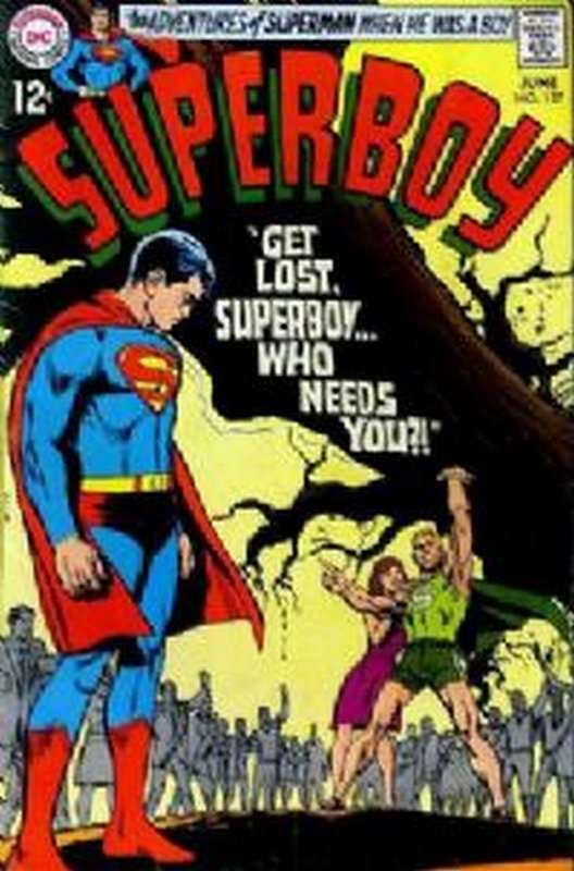Cover of Superboy (Vol 1) #157. One of 250,000 Vintage American Comics on sale from Krypton!
