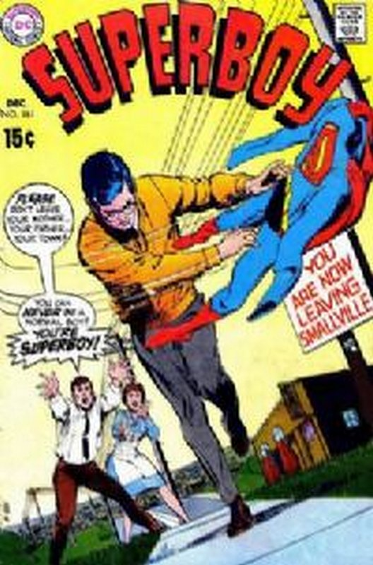 Cover of Superboy (Vol 1) #161. One of 250,000 Vintage American Comics on sale from Krypton!