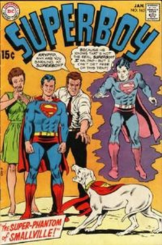 Cover of Superboy (Vol 1) #162. One of 250,000 Vintage American Comics on sale from Krypton!
