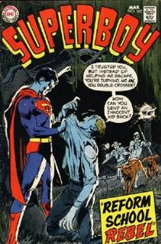 Cover of Superboy (Vol 1) #163. One of 250,000 Vintage American Comics on sale from Krypton!