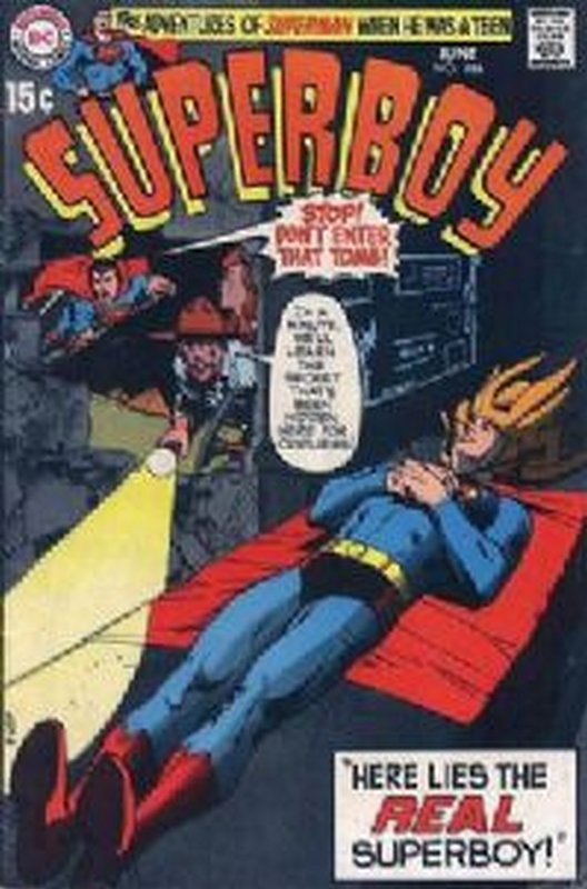Cover of Superboy (Vol 1) #166. One of 250,000 Vintage American Comics on sale from Krypton!