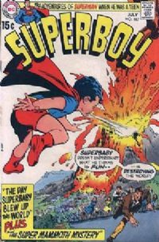 Cover of Superboy (Vol 1) #167. One of 250,000 Vintage American Comics on sale from Krypton!