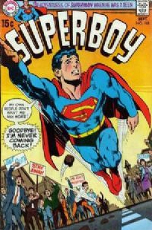 Cover of Superboy (Vol 1) #168. One of 250,000 Vintage American Comics on sale from Krypton!