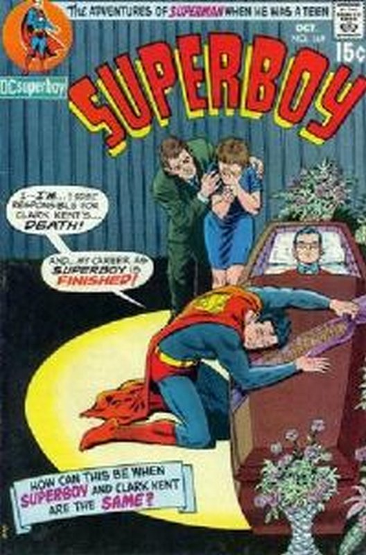 Cover of Superboy (Vol 1) #169. One of 250,000 Vintage American Comics on sale from Krypton!