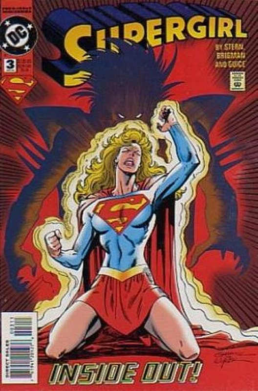 Cover of Supergirl (1994 Ltd) #3. One of 250,000 Vintage American Comics on sale from Krypton!