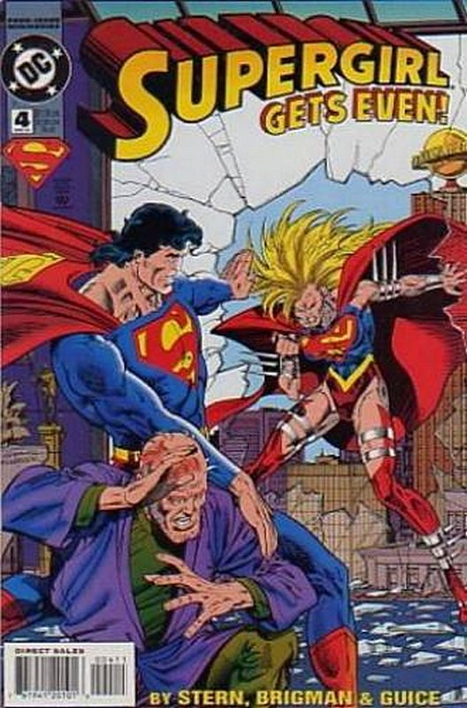 Cover of Supergirl (1994 Ltd) #4. One of 250,000 Vintage American Comics on sale from Krypton!