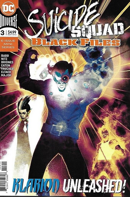 Cover of Suicide Squad: Black Files (2017 Ltd) #3. One of 250,000 Vintage American Comics on sale from Krypton!