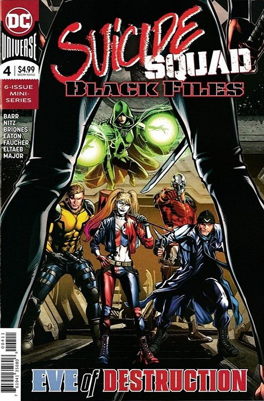 Cover of Suicide Squad: Black Files (2017 Ltd) #4. One of 250,000 Vintage American Comics on sale from Krypton!